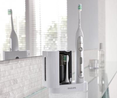 Звуковая зубная щетка Philips Sonicare Platinum HX9182/10 - общий вид