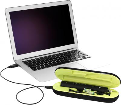 Звуковая зубная щетка Philips Sonicare Black DiamondClean HX9352/04 - функция зарядки от USB-порта