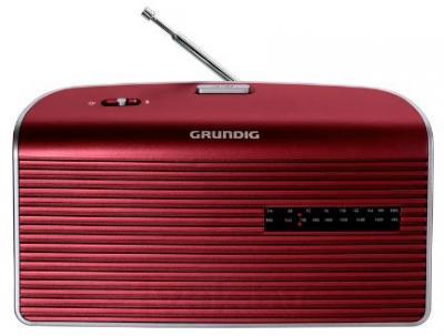 Радиоприемник Grundig Music 60 (красно-серебристый) - общий вид