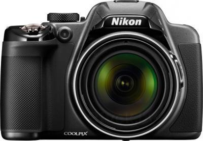 Компактный фотоаппарат Nikon Coolpix P530 (черный) - вид спереди