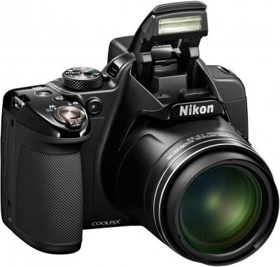 Компактный фотоаппарат Nikon Coolpix P530 (черный) - общий вид