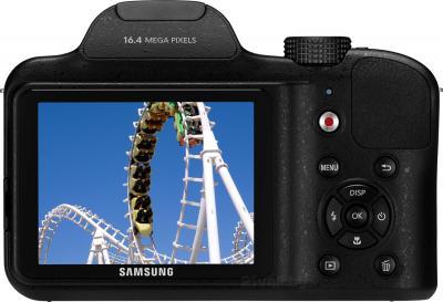 Компактный фотоаппарат Samsung WB1100 (Black) - вид сзади