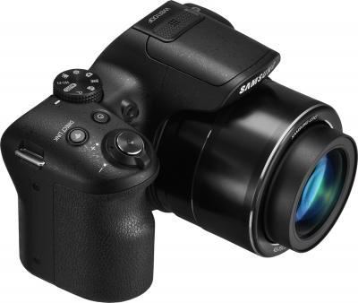 Компактный фотоаппарат Samsung WB1100 (Black) - общий вид