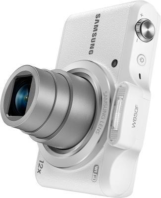 Компактный фотоаппарат Samsung WB50F (White) - общий вид