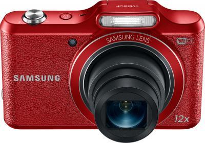 Компактный фотоаппарат Samsung WB50F (Red) - общий вид