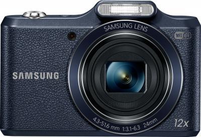 Компактный фотоаппарат Samsung WB50F (Black) - вид спереди