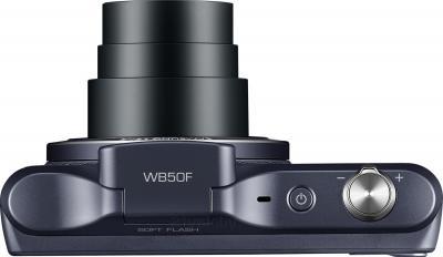 Компактный фотоаппарат Samsung WB50F (Black) - вид сверху