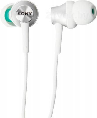 Наушники Sony MDR-EX450W (белый) - общий вид