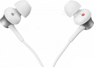 Наушники Sony MDR-EX450W (белый) - вид сбоку