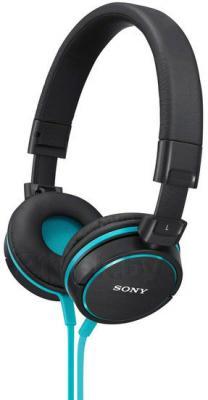 Наушники-гарнитура Sony MDR-ZX610APL (синий) - общий вид