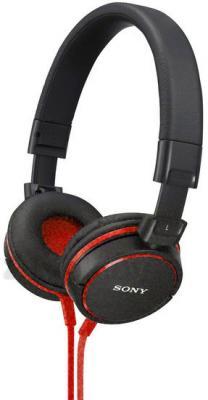 Наушники-гарнитура Sony MDR-ZX610APR (красный) - общий вид