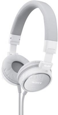 Наушники-гарнитура Sony MDR-ZX610APW (белый) - общий вид