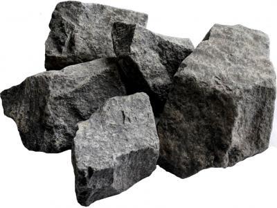 Камень Чевжавара Габбро-диабаз колотый - общий вид