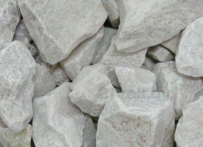 Камень Чевжавара Белый кварцит обвалованный - общий вид
