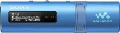 USB-плеер Sony NWZ-B183FB (голубой) - общий вид