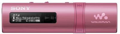 USB-плеер Sony NWZ-B183FB ( розовый) - общий вид