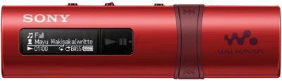 USB-плеер Sony NWZ-B183FB ( красный) - общий вид