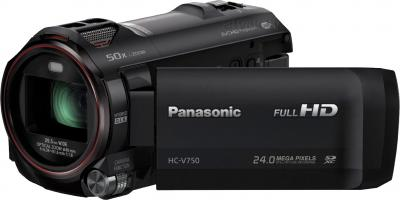 Видеокамера Panasonic HC-V750EE-K - общий вид