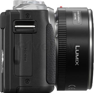 Беззеркальный фотоаппарат Panasonic Lumix DMC-GF6XEE-K - вид сбоку