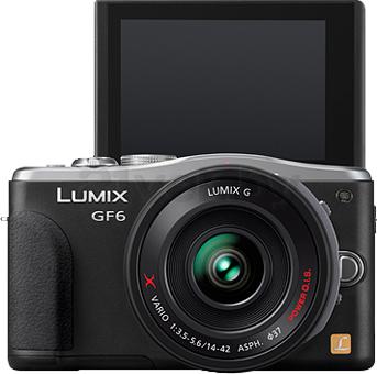 Беззеркальный фотоаппарат Panasonic Lumix DMC-GF6XEE-K - общий вид