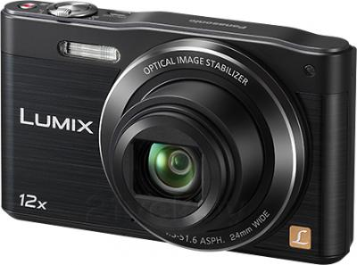 Компактный фотоаппарат Panasonic Lumix DMC-SZ8EE-K - общий вид