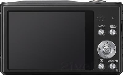 Компактный фотоаппарат Panasonic Lumix DMC-SZ8EE-K - вид сзади