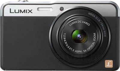 Компактный фотоаппарат Panasonic Lumix DMC-XS3EE-K - вид спереди