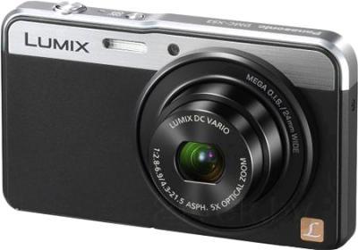 Компактный фотоаппарат Panasonic Lumix DMC-XS3EE-K - общий вид