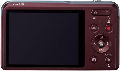 Компактный фотоаппарат Panasonic Lumix DMC-XS3EE-R - вид сзади