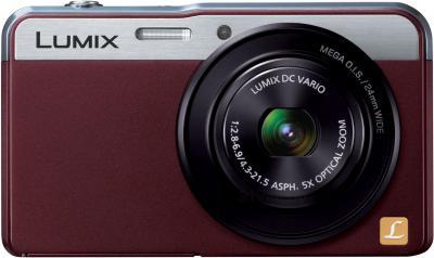 Компактный фотоаппарат Panasonic Lumix DMC-XS3EE-R - вид спереди