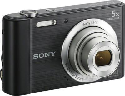 Компактный фотоаппарат Sony Cyber-shot DSC-W800 (черный) - общий вид