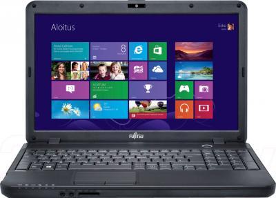 Ноутбук Fujitsu LIFEBOOK AH502 (AH502M42B5RU) - фронтальный вид