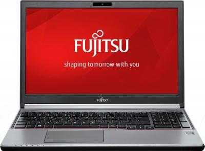 Ноутбук Fujitsu LIFEBOOK E753 (E7530MF011RU) - фронтальный вид