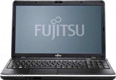 Ноутбук Fujitsu LIFEBOOK A512 (A5120M73A5RU) - фронтальный вид