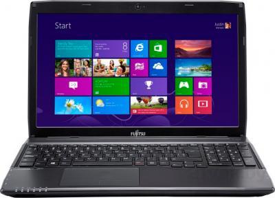 Ноутбук Fujitsu LIFEBOOK AH544 (AH544M63A5RU) - фронтальный вид