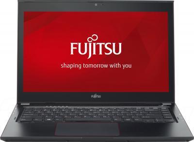 Ноутбук Fujitsu LIFEBOOK U554 (U5540M85A2RU) - фронтальный вид