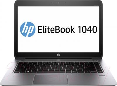 Ноутбук HP Elitebook 1040 (F1N10EA) - фронтальный вид