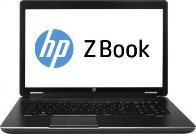 Ноутбук HP ZBook 17 Mobile Workstation (F0V54EA) - фронтальный вид