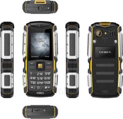 Мобильный телефон TeXet TM-511R - обзор всех панелей