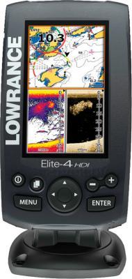 Эхолот-картплоттер Lowrance ELITE-4 HDI - общий вид