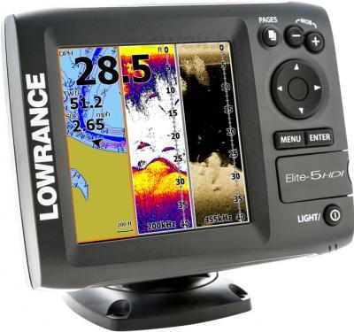 Эхолот-картплоттер Lowrance Elite 5 HDI - общий вид