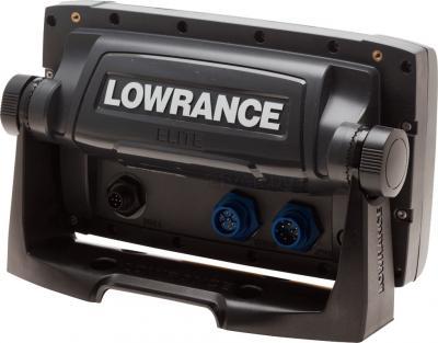 Эхолот-картплоттер Lowrance Elite-7х - вид сзади