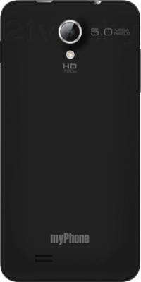 Смартфон MyPhone Next-S - задняя панель черного цвета