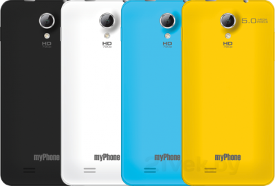 Смартфон MyPhone Next-S - все расцветки задних панелей