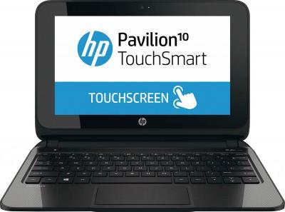 Ноутбук HP Pavilion TouchSmart 10-e010sr (F5B61EA) - фронтальный вид