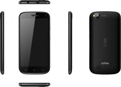Смартфон MyPhone S-Line (черный) - полный обзор панелей