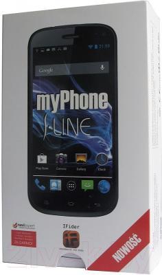 Смартфон MyPhone S-Line (черный)