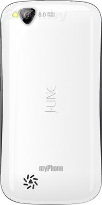 Смартфон MyPhone S-Line (белый) - задняя панель