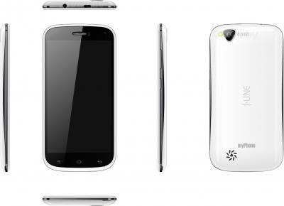 Смартфон MyPhone S-Line (белый) - полный обзор панелей