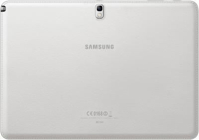 Планшет Samsung Galaxy Note 10.1 2014 Edition 16GB 3G White (SM-P601) - вид сзади
